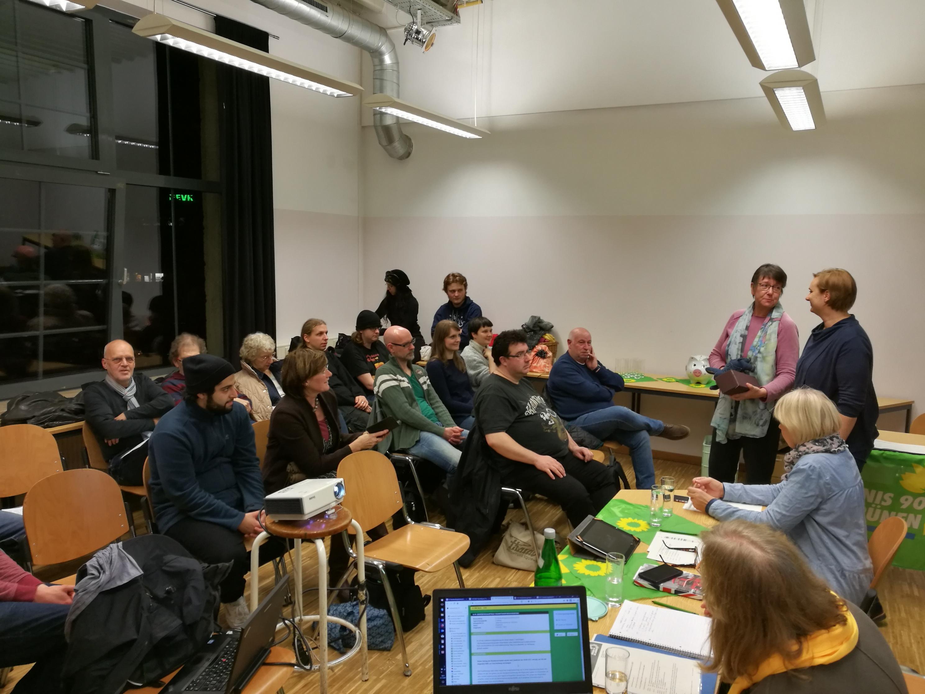 Grüne Wuppertal beschäftigen sich mit der aktuellen politischen Lage