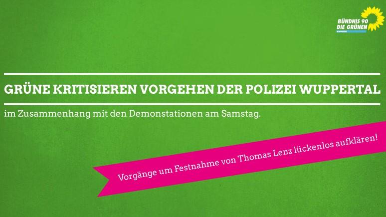Grüner Kreisverband Wuppertal kritisiert die Festnahme von Chef des Jobcenters