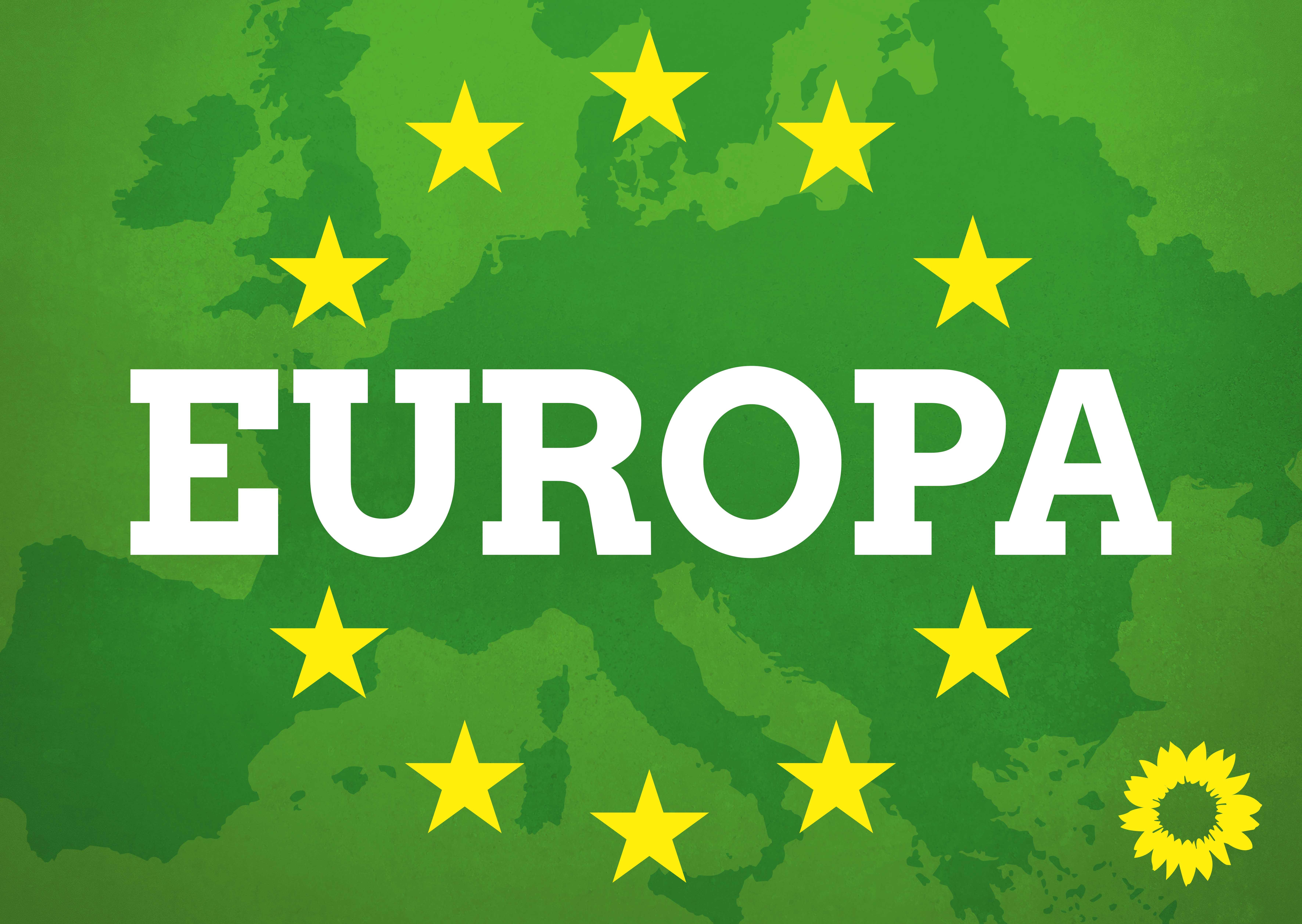 Wir kämpfen für Klimaschutz, Demokratie und Gerechtigkeit in Europa
