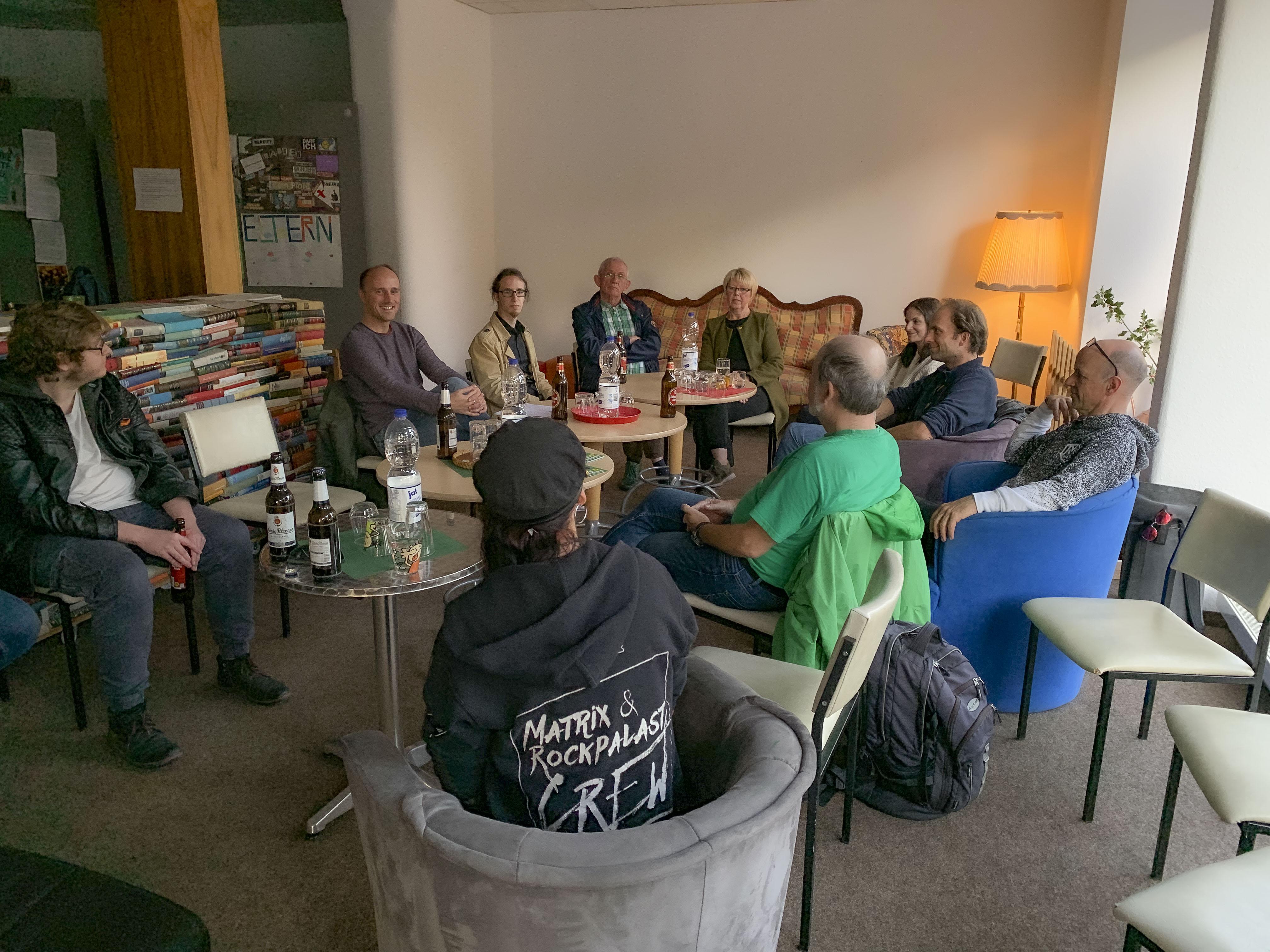 """""""Café Berlin – Die Bergische Edition"""" mit Sven Lehmann"""