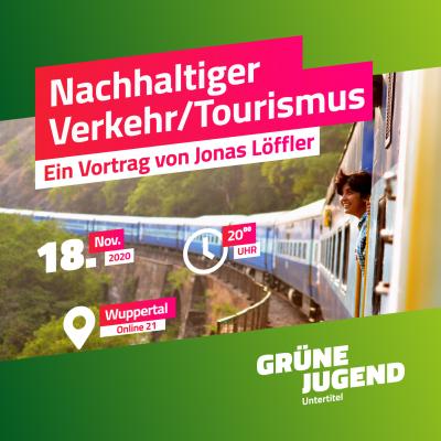 Webinar: Nachhaltiger Verkehr und Tourismus