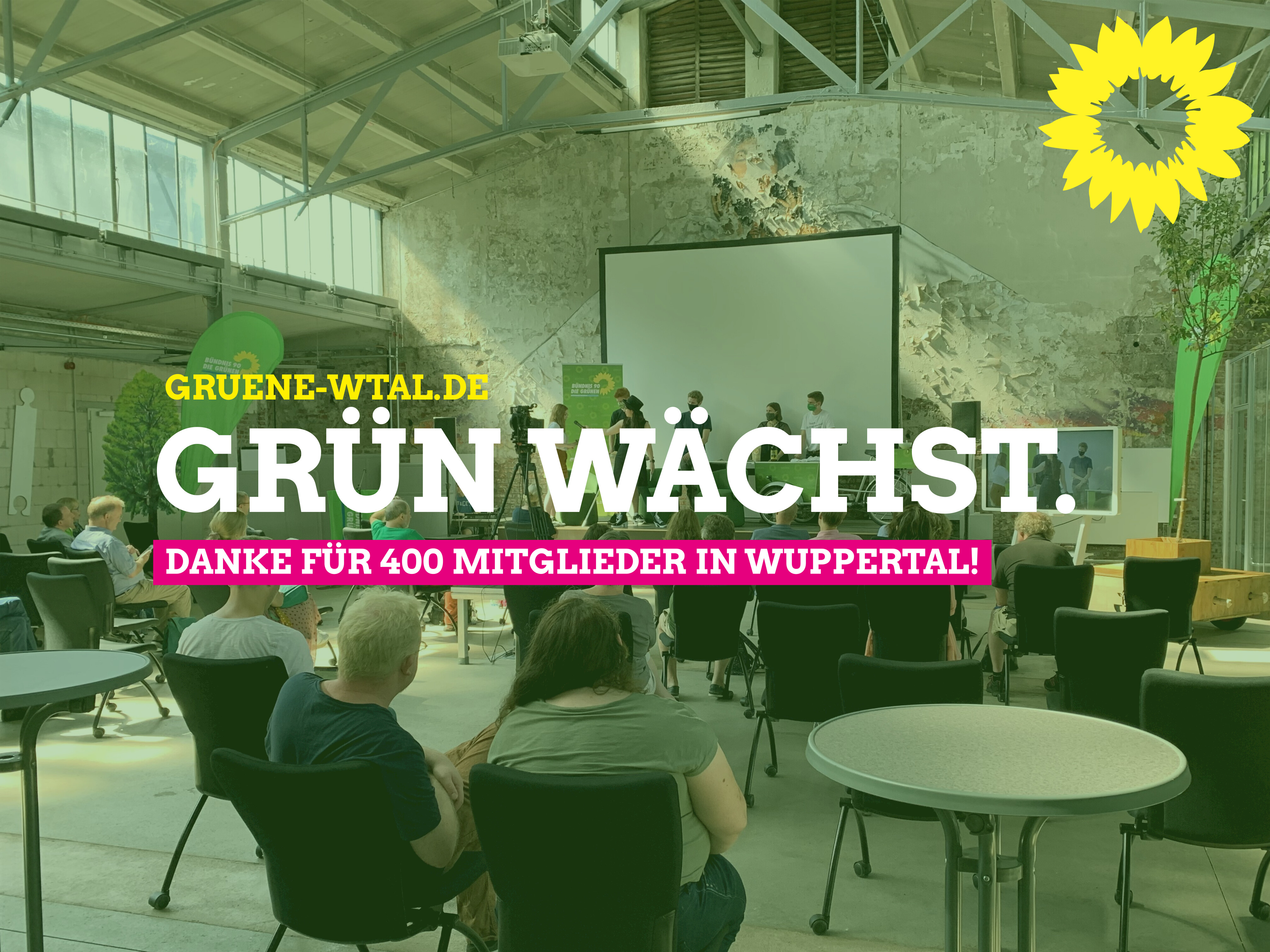400 Mitglieder in Wuppertal!