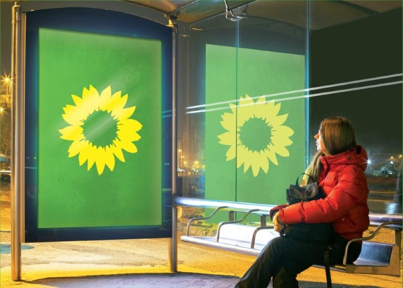 Plakatspende, Wahlkampf-App und Foto-Fundus