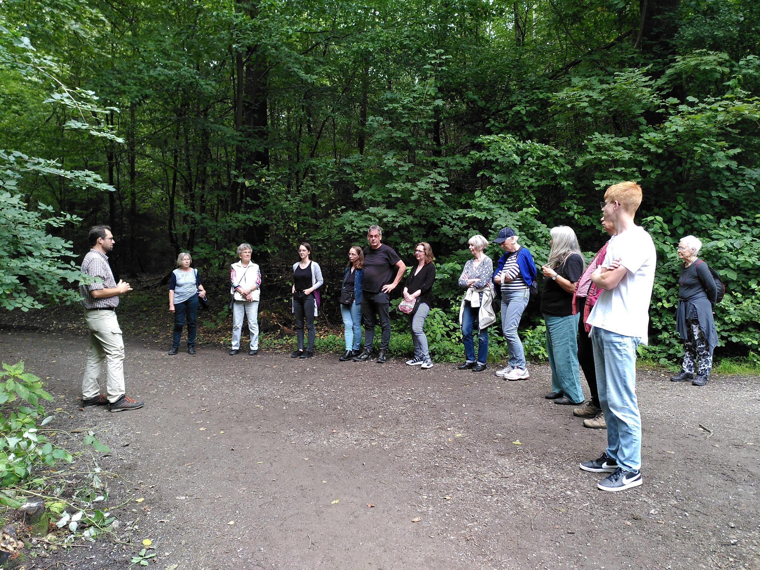 Waldspaziergang mit Sebastian Rabe in Ronsdorf